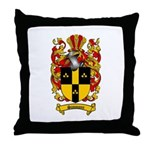 Simmons Coat of Arms Throw Pillow