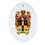 Simmons Coat of Arms Oval Ornament