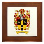 Simmons Coat of Arms Framed Tile