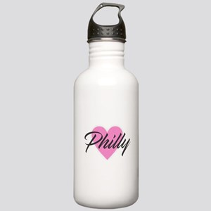 I Heart Philly Stainless Water Bottle 1.0L