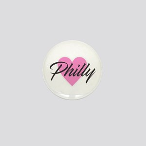 I Heart Philly Mini Button