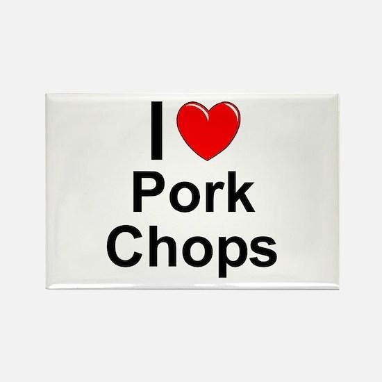Pork Chops Rectangle Magnet