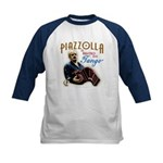 Piazzolla Tango Kids Baseball Jersey
