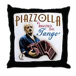 Piazzolla Tango Throw Pillow