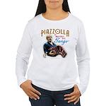 Piazzolla Tango Women's Long Sleeve T-Shirt