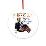 Piazzolla Tango Ornament (Round)