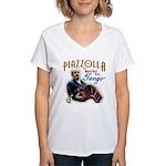 Piazzolla Tango Women's V-Neck T-Shirt