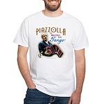 Piazzolla Tango White T-Shirt