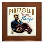 Piazzolla Tango Framed Tile