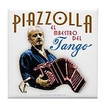 Piazzolla Tango Tile Coaster