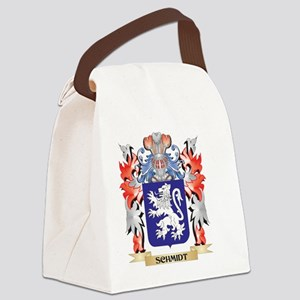 Schmidt Coat of Arms - Family Cre Canvas Lunch Bag