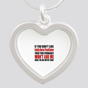If You Do Not Like FAMILY NU Silver Heart Necklace