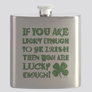 IF YOU'RE LUCKY... Flask