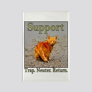 Support Trap Neuter Return Rectangle Magnet
