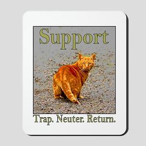 Support Trap Neuter Return Mousepad