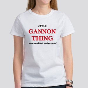It's a Gannon thing, you wouldn't T-Shirt