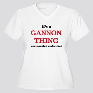 It's a Gannon thing, you wou Plus Size T-Shirt