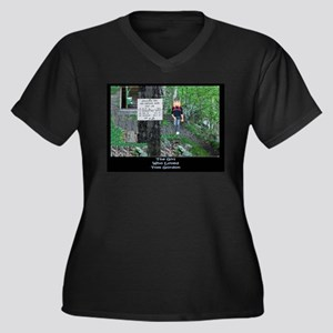 Lost in the Woods Plus Size T-Shirt