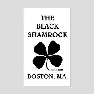 THE BLACK SHAMROCK Sticker (Rectangle)