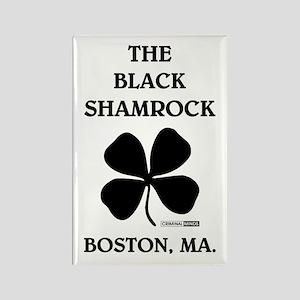 THE BLACK SHAMROCK Rectangle Magnet