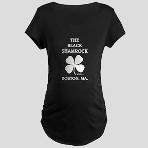 THE BLACK SHAMROCK Maternity Dark T-Shirt