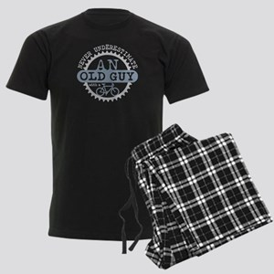 Old Guy Men's Dark Pajamas