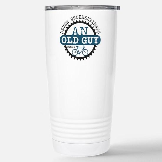 Old Guy Stainless Steel Travel Mug