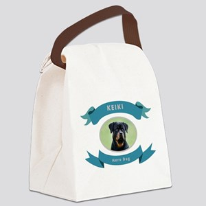 Hero Dog Canvas Lunch Bag