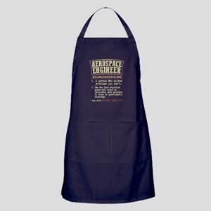 Aerospace Engineer Funny Dictionary Term Apron (da