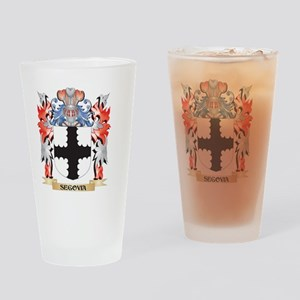 Segovia Coat of Arms - Family Crest Drinking Glass