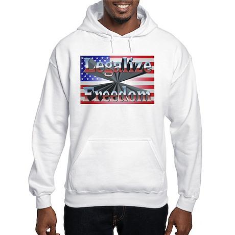 Legalize Freedom Hooded Sweatshirt