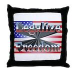 Legalize Freedom Throw Pillow