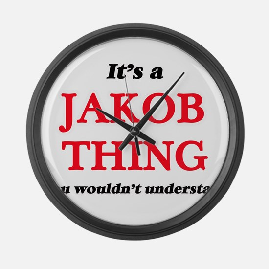It's a Jakob thing, you would Large Wall Clock
