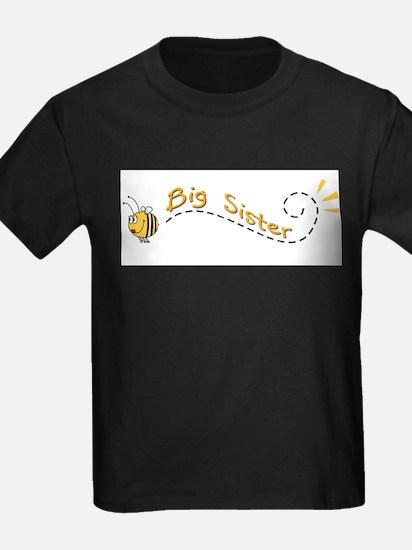 Big Sister Bee Kids T-Shirt