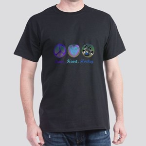 peace_heart_hockey_1 T-Shirt