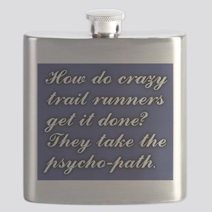 Trail Running Humor - Psycho-Path Flask
