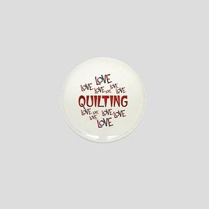 Love Love Quilting Mini Button