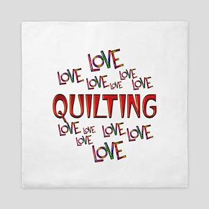 Love Love Quilting Queen Duvet