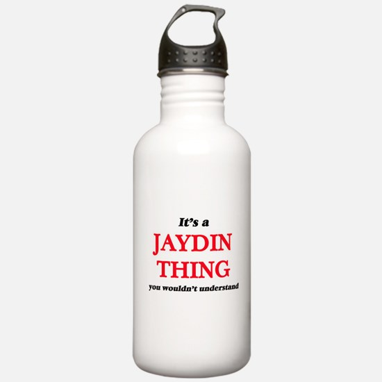It's a Jaydin thin Water Bottle