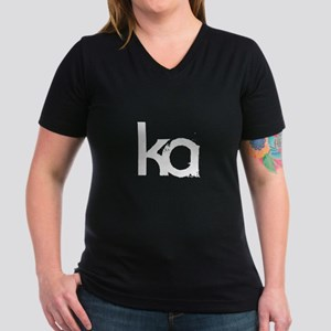 Dark Tower - Ka Women's V-Neck Dark T-Shirt