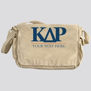 Kappa Delta Rho Personalized Messenger Bag