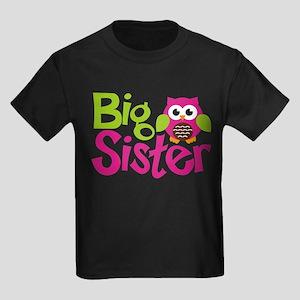 Owl Big Sister T-Shirt