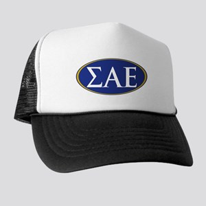 Sigma Alpha Epsilon Fraternity Letters Trucker Hat