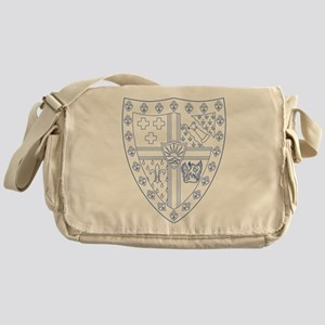 Sigma Alpha Epsilon Fraternity Crest Messenger Bag