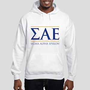 Sigma Alpha Epsilon Fraternity L Hooded Sweatshirt