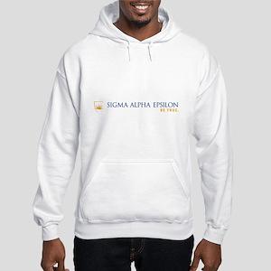 Sigma Alpha Epsilon Fraternity N Hooded Sweatshirt