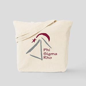 Phi Sigma Rho Logo Tote Bag