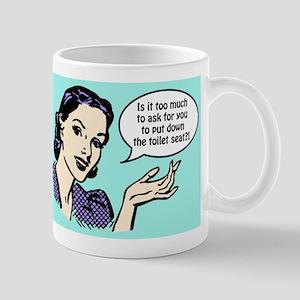 Toilet Seat Mugs
