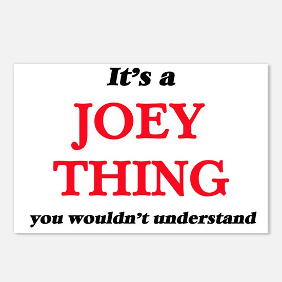 It's a Joey thing, yo Postcards (Package of 8)