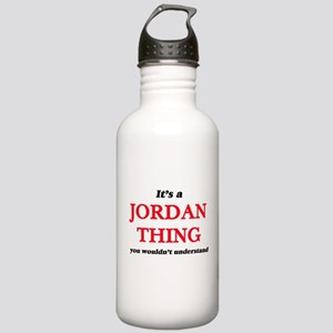 It's a Jordan thin Stainless Water Bottle 1.0L
